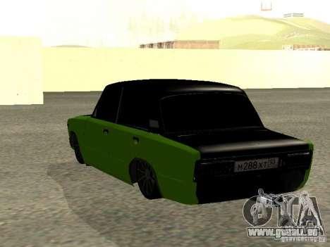 VAZ 2106 HUlK für GTA San Andreas linke Ansicht