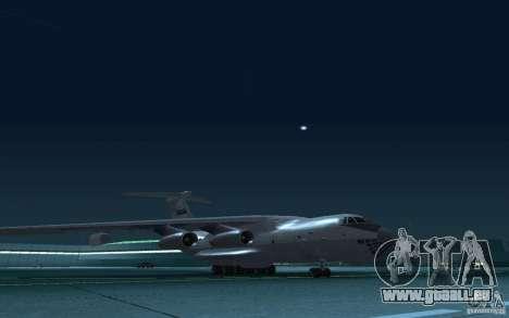 IL 78 Tanker für GTA San Andreas Innenansicht
