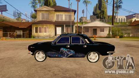 GAZ Volga 24 für GTA San Andreas linke Ansicht