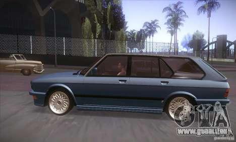 BMW E28 Touring für GTA San Andreas zurück linke Ansicht