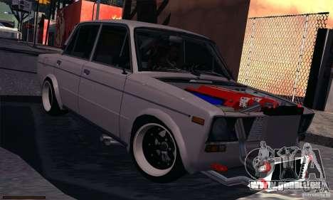 VAZ 2106 Turbo für GTA San Andreas linke Ansicht