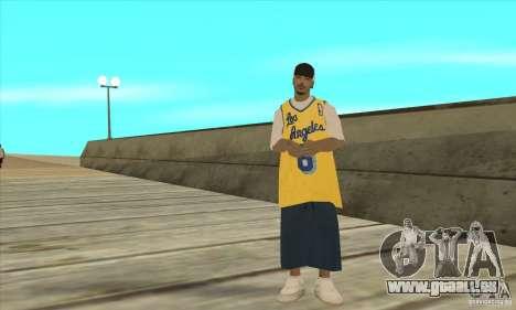 Remplacer toutes les apparences de gangs de Los  pour GTA San Andreas cinquième écran
