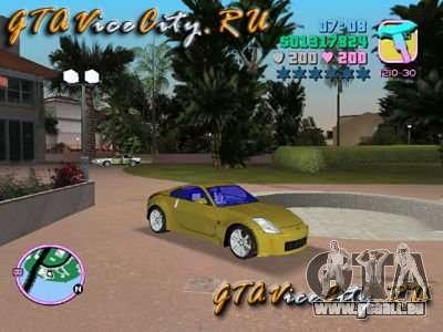 NISSAN Z350 pour GTA Vice City