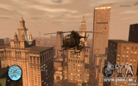AH-6 Little Bird AcuDigital Camo pour GTA 4