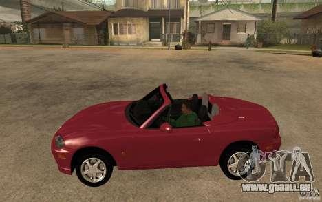Mazda MX5 - Stock für GTA San Andreas linke Ansicht