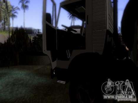 KAMAZ 53212 Milch tanker für GTA San Andreas Seitenansicht