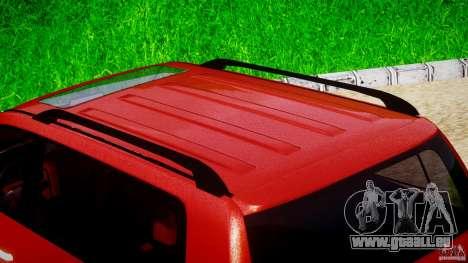 Toyota Land Cruiser 200 2007 pour GTA 4 est une vue de dessous