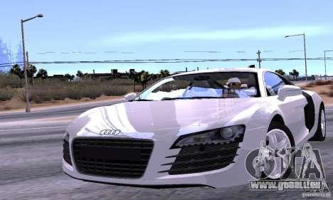 Audi R8 4.2 FSI pour GTA San Andreas moteur