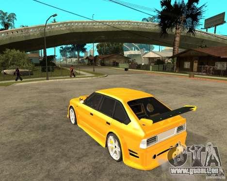 Moskvich 2141 STR (TUNING dur) pour GTA San Andreas laissé vue