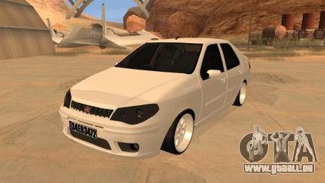 Fiat Albea pour GTA San Andreas