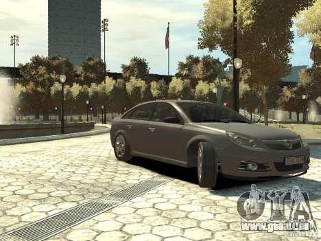 Opel Vectra pour GTA 4 est un droit
