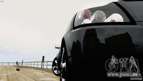 Opel Speedster Turbo 2004 pour GTA 4 est une vue de l'intérieur