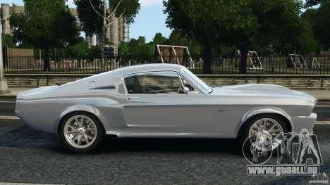 Shelby GT 500 Eleanor für GTA 4 linke Ansicht
