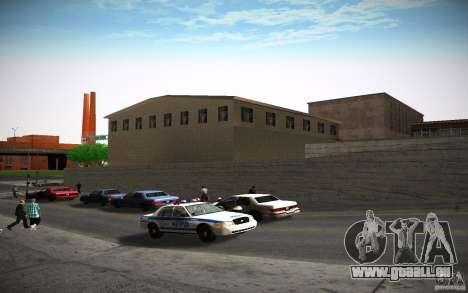 Service d'incendie de HD pour GTA San Andreas huitième écran
