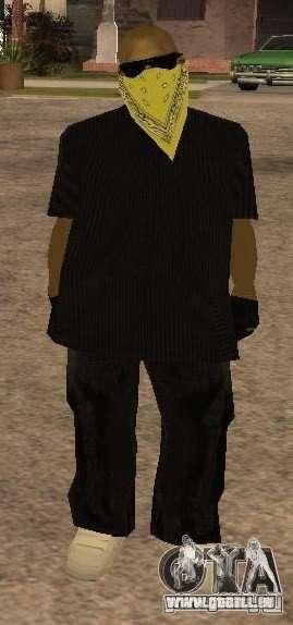 Nouveaux skins Gang de Vagos pour GTA San Andreas deuxième écran