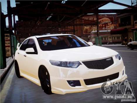 Honda Accord Mugen pour GTA 4 Vue arrière de la gauche