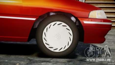 Mercury Tracer 1993 v1.0 pour GTA 4 roues