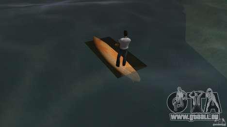 Surfboard 2 pour GTA Vice City sur la vue arrière gauche