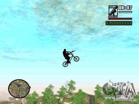 Fliegende Fahrräder für GTA San Andreas
