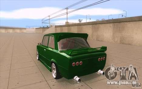 VAZ 2101 Lada Sport für GTA San Andreas zurück linke Ansicht