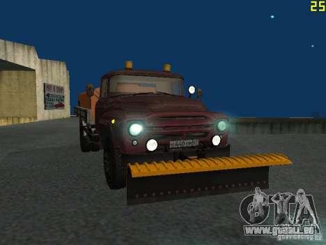 Ko-829 sur beta ZIL-130-châssis de camion pour GTA San Andreas vue intérieure