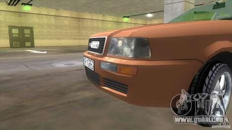 Audi S2 für GTA Vice City zurück linke Ansicht