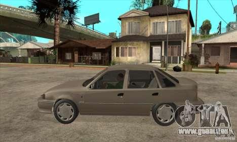 Daewoo Nexia Dohc 2009 pour GTA San Andreas laissé vue