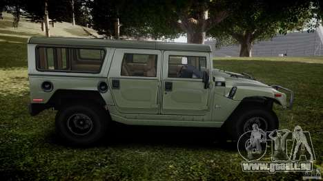 Hummer H1 Original für GTA 4 Seitenansicht