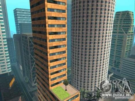 DownTown NEW pour GTA San Andreas deuxième écran