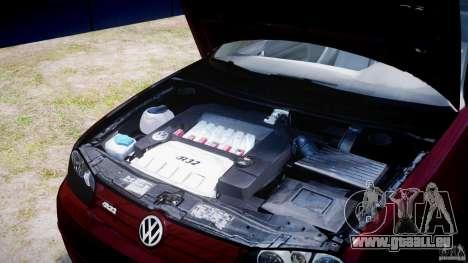 Volkswagen Golf IV R32 v2.0 pour GTA 4 est un côté