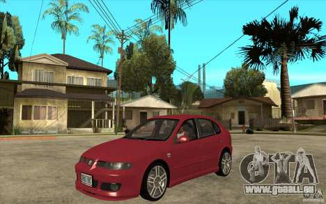 Seat Leon Cupra - Stock für GTA San Andreas