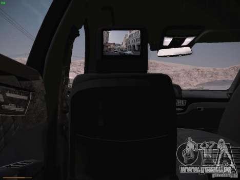 Mercedes Benz S65 AMG 2012 pour GTA San Andreas vue de côté