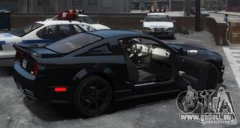Saleen S281 Extreme Unmarked Police Car pour GTA 4 est un droit