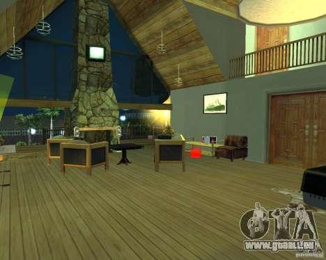 Villa neuve pour CJ pour GTA San Andreas