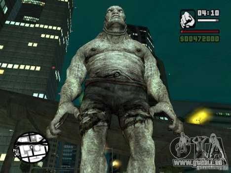 Mise à jour Pak personnages de Resident Evil 4 pour GTA San Andreas troisième écran