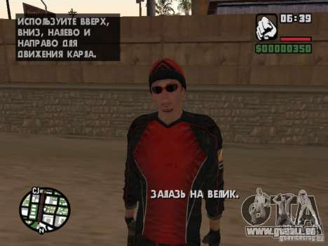 Skydiver pour GTA San Andreas