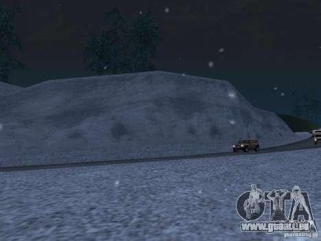Neige pour GTA San Andreas septième écran
