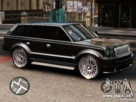 Land Rover SPORT 4.2L für GTA 4