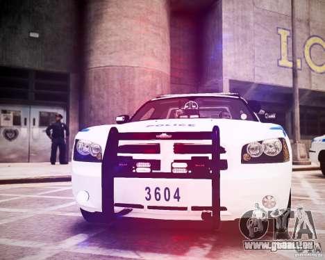 Dodge Charger 2010 NYPD ELS für GTA 4 Seitenansicht