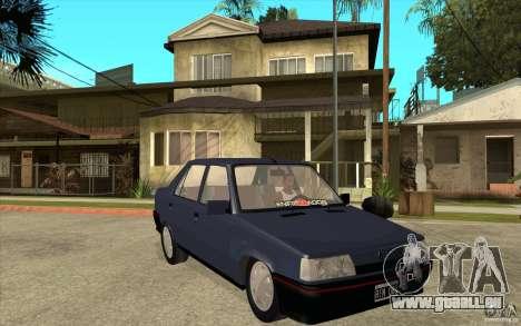 Renault 9 Mod 92 TXE pour GTA San Andreas vue arrière