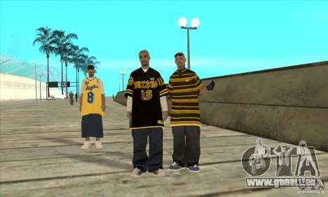 Remplacer toutes les apparences de gangs de Los  pour GTA San Andreas