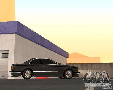 BMW M6 E24 pour GTA San Andreas vue de droite