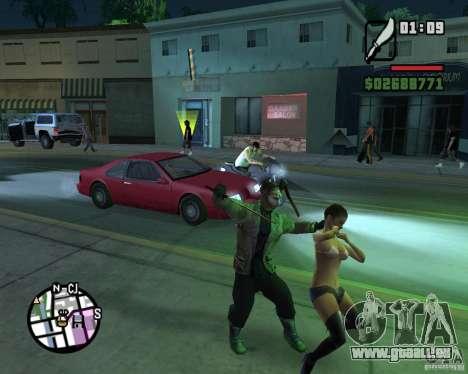 Jason Voorhees pour GTA San Andreas cinquième écran