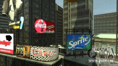 Time Square Mod pour GTA 4 cinquième écran