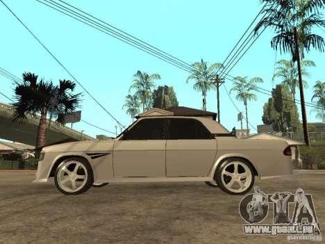 GAZ 3110 pour GTA San Andreas laissé vue