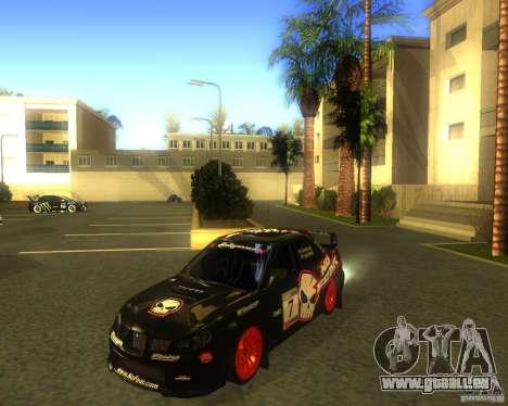 Subaru Impreza Colin McRae pour GTA San Andreas laissé vue