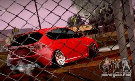 Subaru Impreza WRX Camber pour GTA San Andreas vue arrière