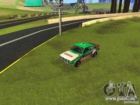 Opel Kadett pour GTA San Andreas salon