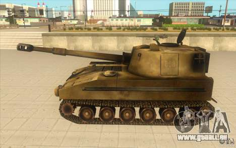 M-109 SELF-PROPELLED GUNS für GTA San Andreas linke Ansicht