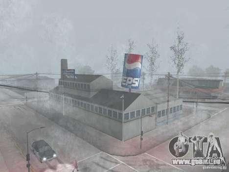 Pepsi Vending Maschinen und Anlagen für GTA San Andreas zweiten Screenshot